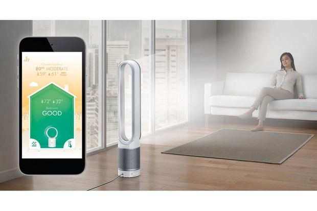 Review: luchtreinigende ventilator met app-bediening