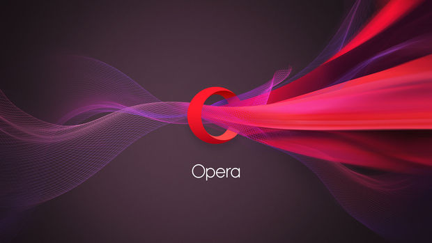 Browser Opera in Chinese handen