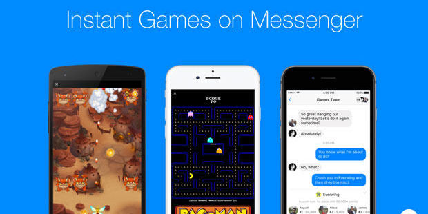 Facebook laat je direct in Messenger gamen