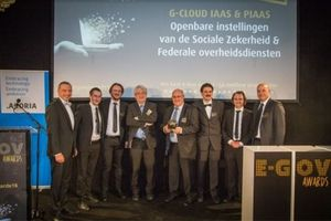G-Cloud scoort op de eGov Awards
