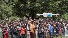 Unicef test humanitaire drones met wifi in Malawi