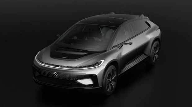 De FF91 van Faraday Future, .