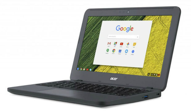 Chromebook in robuuste behuizing