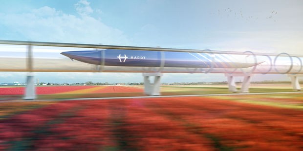 Bouw testterein hyperloop begonnen in Delft