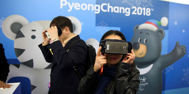 Olympische Spelen live in virtual reality