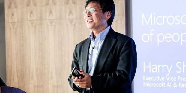 Harry Shum, executive vice president voor Microsofts AI en Research