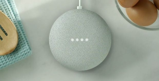 De Google Home Mini