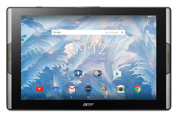 Acer tablet zet in op multimedia