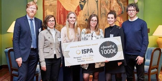 Masterproef over blockchain wint Internet Student Paper Award
