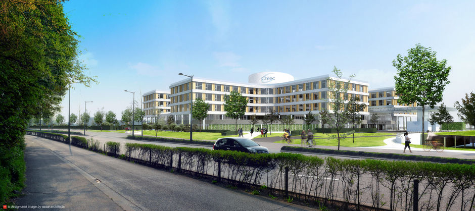 Chirec onthult zijn 'Innovative Hospital Datacenter'