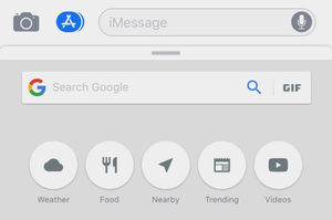 Google Search zit nu geïntegreerd in iMessage en Safari