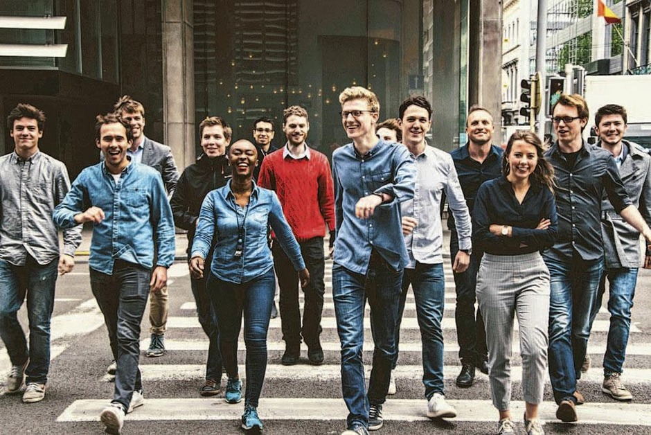 Studenten voor 1 dag CEO van een start-up