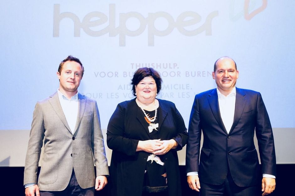 Zorgstart-up Helpper start na Antwerpen en Gent nu ook in Brussel