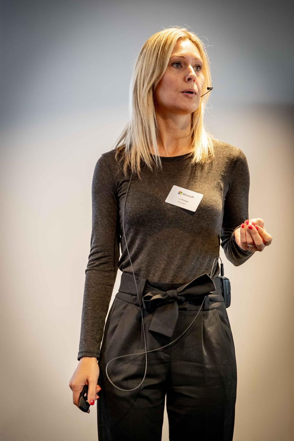 Ine Princen, Product Marketing Manager Microsoft 365