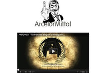 Anonymous slaagt in hack ArcelorMittal (UPDATE)