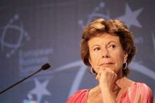 "Neelie Kroes over vrouwen in ICT: ""Don't take no for an answer"""