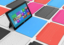 Microsoft lekt prijzen Surface RT-tablet
