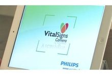 Philips iPad-app meet harstlag en ademhaling