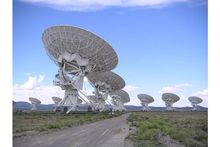 Spectaculaire timelapse-video van Very Large Array radiotelescoop in New Mexico