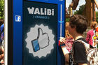 Walibi start rfid-project rond Facebook