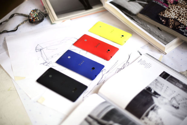 Design troef bij HTC's eerste Windows Phone 8-toestellen