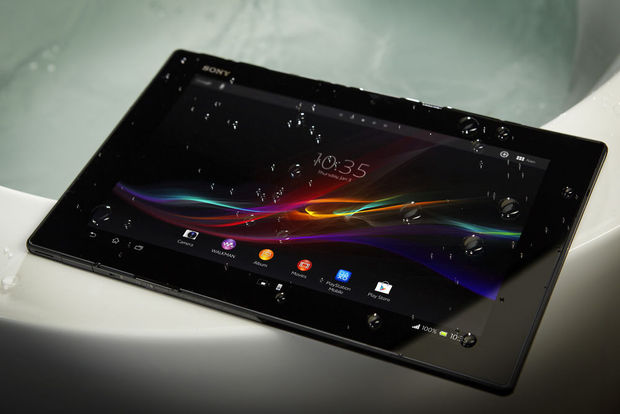 Sony onthult waterdichte Xperia Tablet Z