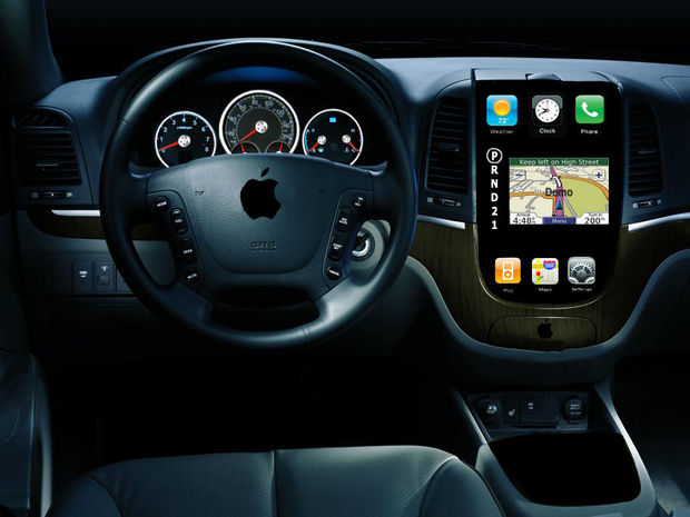 Apple wil touchscreen-dashboard in de auto