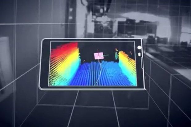 VIDEO: Experimentele Google-smartphone ziet wereld in 3D