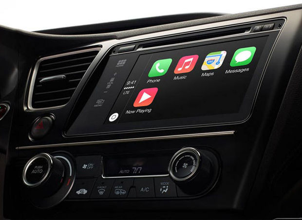 Apple kondigt iOS voor auto's aan: CarPlay