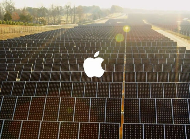 Apple investeert 750 miljoen euro in Californische zonne-energie