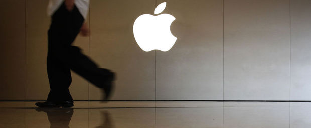 Apple neemt plaats in de Dow Jones
