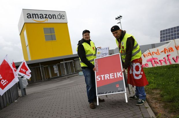 Staking legt Amazon in Duitsland lam