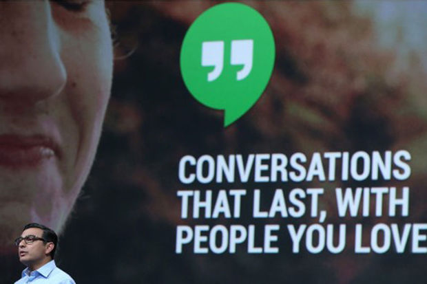 Communicatie-app Google Hangouts wordt slimmer