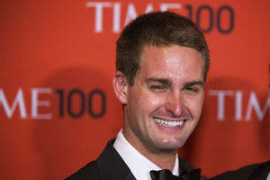 Evan Spiegel (Snapchat) is de nieuwe Mark Zuckerberg