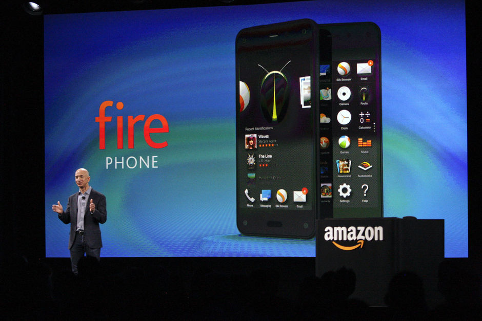 'Amazon snijdt in hardwaretak na falen Fire Phone'