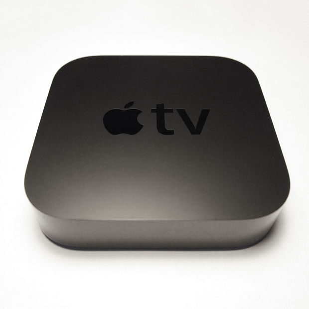 De vorige generatie Apple TV.