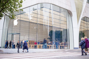 In Beeld: Dit is de nieuwe Apple Store in Brussel