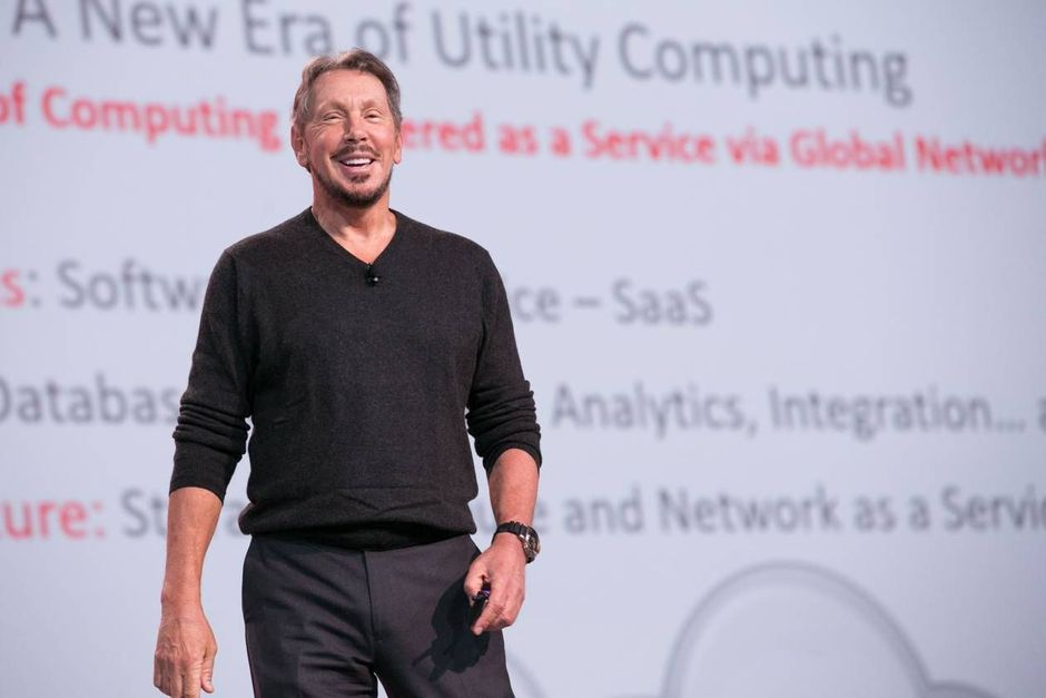 "Larry Ellison: ""IBM en SAP staan nergens in de cloud"""