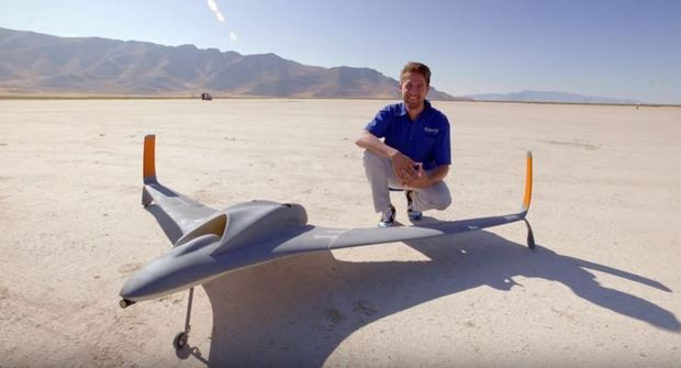Video: 3D-geprinte drone kan 240 km/u
