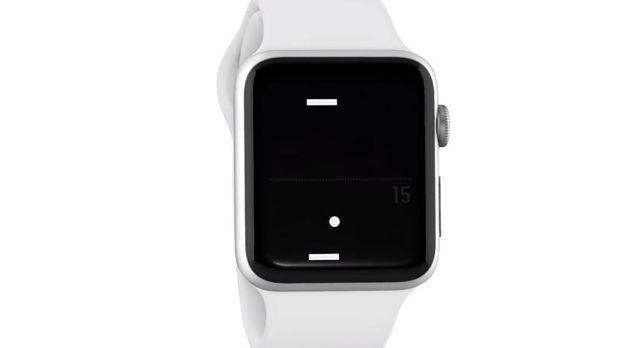 'Pong' komt naar Apple Watch
