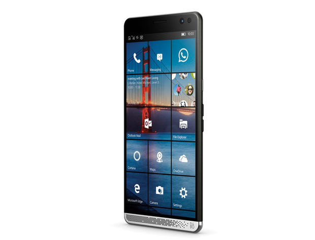 HP lanceert hybride Windows 10 smartphone