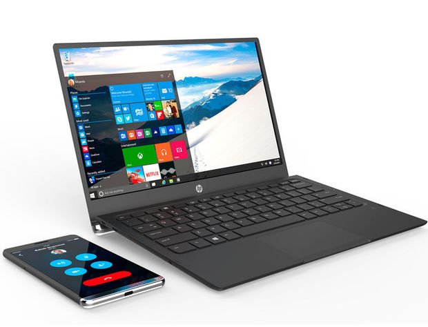 De HP Elite x3 en HP Mobile Extender, .