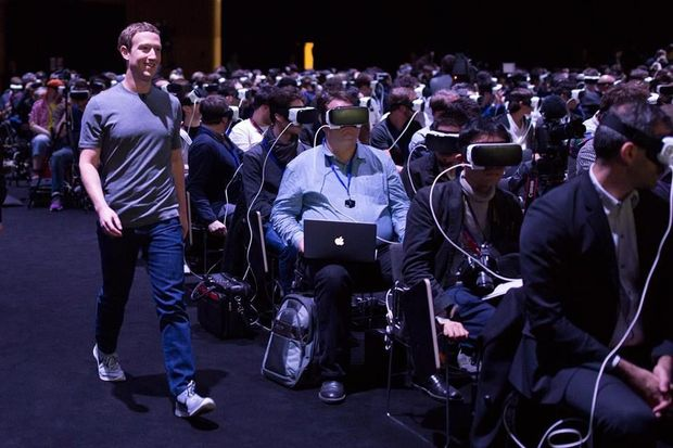 "Zuckerberg: ""Virtual reality wordt de meest sociale technologie ooit"""